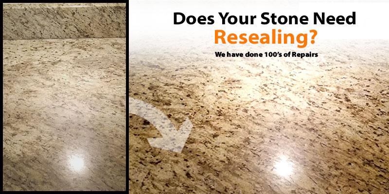 stone repair sealing